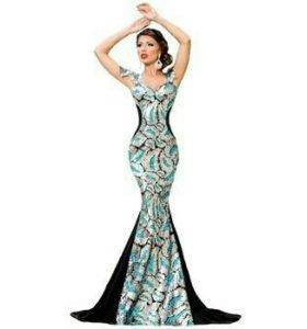 Вечернее платье  (новое) ПРОДАЖА/ПРОКАТ