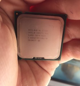 Intel Core 2 Duo e7300 2.66GHZ 3M кэш