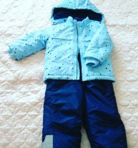 Детский комплект-двойка осень-зима.