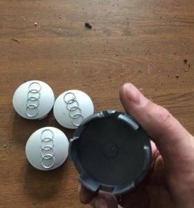 Колпачки для литых дисков Ауди