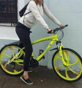 Велосипед bmw салатовый art.345234