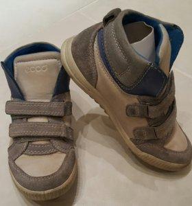 Детские ботинки осень-весна ecco