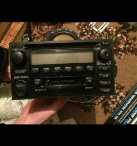 Магнитола радио диск касета тойота камри.