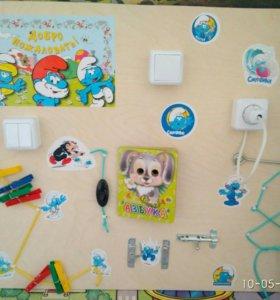 Игрушка Бизиборд ( доска для детей) развивалка