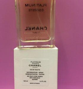 Тестер Chanel platinum
