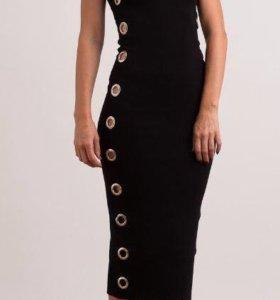 Новое платье-лапша на бретелях