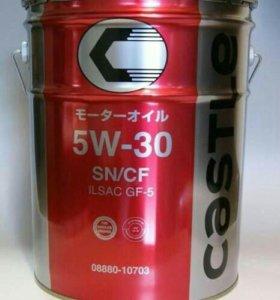 Toyota Castle Motor Oil SN 5W-30, розлив с бочки