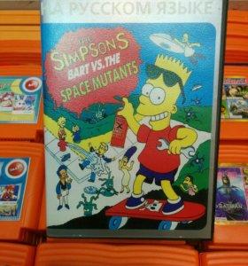 Картридж The Simpsons. Sega