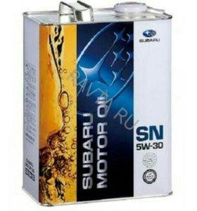 "Масло моторное "" Subaru Motor Oil SN 5w30 "", 4 лит"
