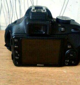 Продам фотоаппарат Nikon D3300