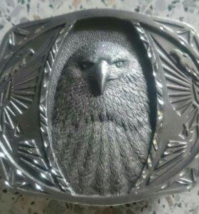 Пряжка на ремень Eagle head