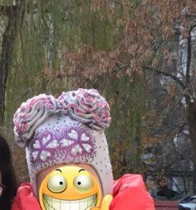 Шикарнейшая осенняя теплая зима, шапка до 52