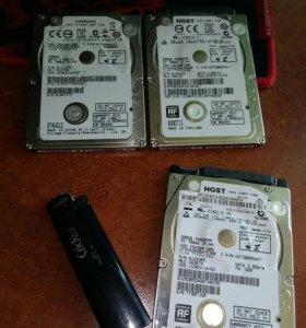 HDD для ноутбука ,на запчасти
