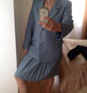 Пиджак+ юбка. Костюм