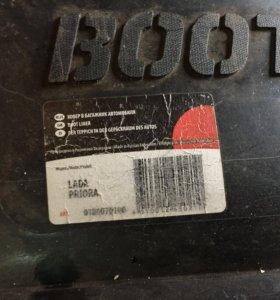 Коврик в багажник Приора