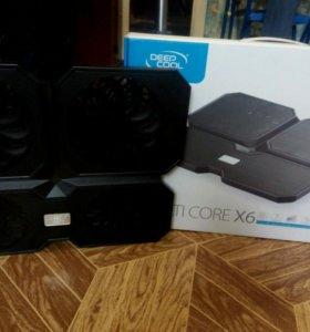 Охлаждение для ноутбуков.DeepCool MultiCore X6