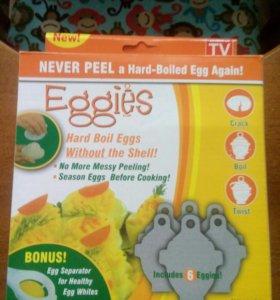 Контейнеры для варки яиц без скорлупы Eggies