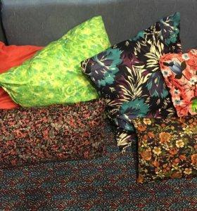Подушки и матрацы для садовой мебели