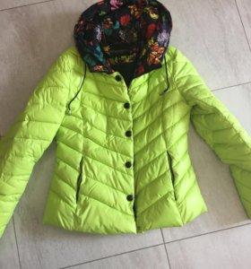 Женская зимняя куртка 46 размер