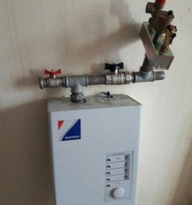 Отопительный электрический котел мощность 220-380