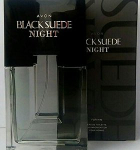 Avon Black Suede Night для него