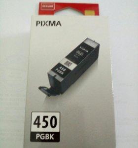 Картридж Canon PGI-450 BK оригинальный