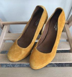 Замшевые туфли Bianco