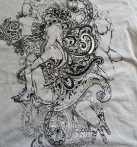 Новая.футболка мужская .Saint&sinner.