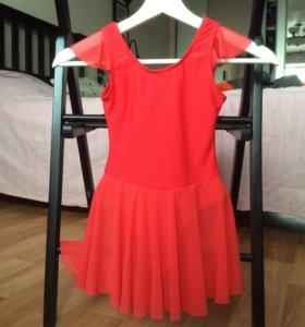 Платье для танцев, на 4-5 лет