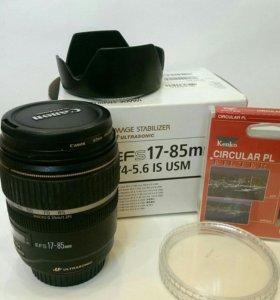 Объектив Canon 17-85 mm f/4-5.6