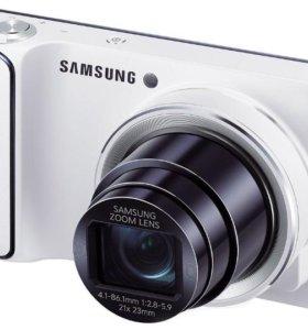 Фото камера Samsung Galaxy с орегинальным чехлом