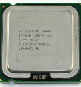Intel Core 2 Duo Processor E4600 OEM