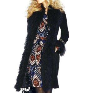 Пальто замшевое Apart демисезонное