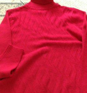 Свитер пуловер теплые