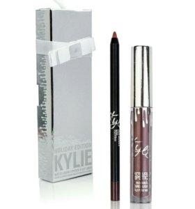 Kylie набор помада+карандаш