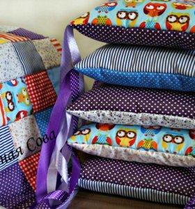 Комплект - Одеяло и бортики в кроватку