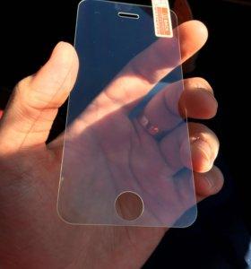 Стекла на iPhone 5-5s