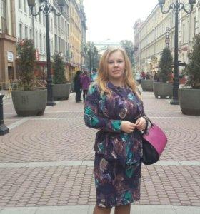 Костюм юбка и жакет 48-50+р