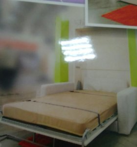 Кровать-шкаф с диваном