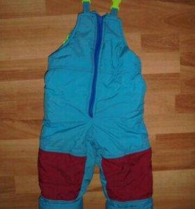 Зимний комбинезон для мальчика на 86-98см