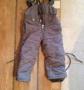 Комбинезон (штаны) для девочки зимний