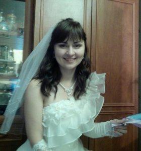 Свадебное платье на рост 165-170