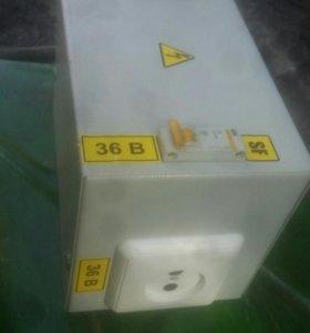 Трансформатор понижающий 36в