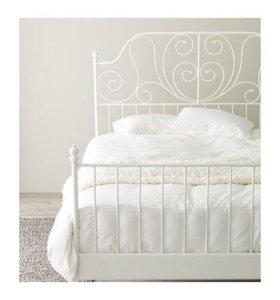Срочно! Кровать + матрас + наматрасник