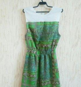 Новое шифоновое платье, размер 40!