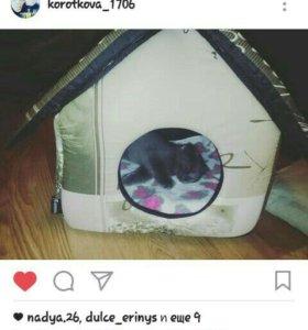 Домик для кошки новый