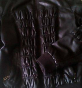 Куртка кож.зам. в хорошем состоянии ,торг.