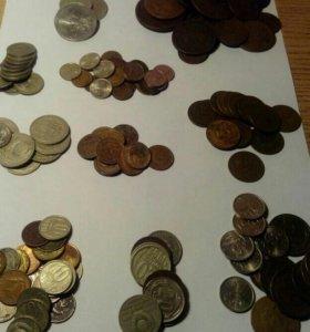 Монеты СССР,юбилейные монеты СССР за все