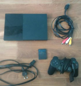 PlayStation 2 slim (прошитая)