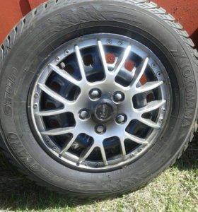 Зимние колёса на фольксваген поло